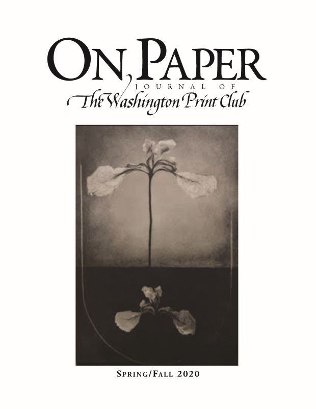 On Paper Spring Fall 2020 Front Cover