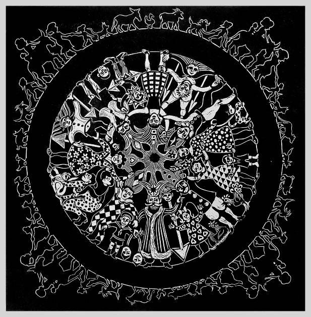 """Deborah Schindler, """"Wheel of Life"""""""