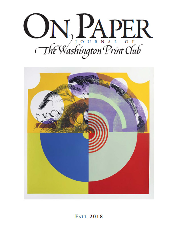 On Paper Fall 2018 edition front cover