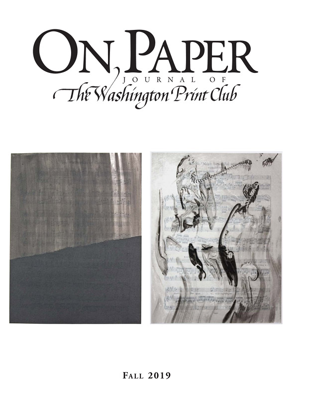 On Paper Fall 2019 edition front cover