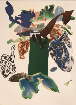 Randi Reiss-McCormack, Paper Trees have Paper Fruit, 2018