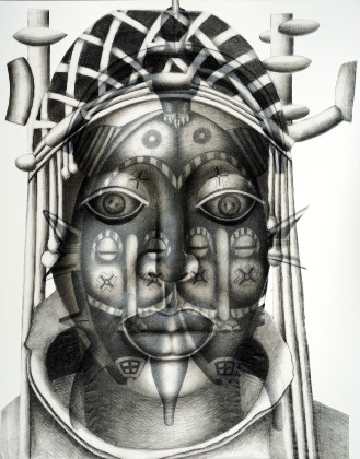 "Gail Shaw-Clemons, ""Mask 3"", 2020"