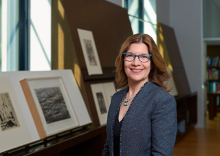 Shelley Langdale, National Gallery of Art, Curator and Head of Prints and Drawings